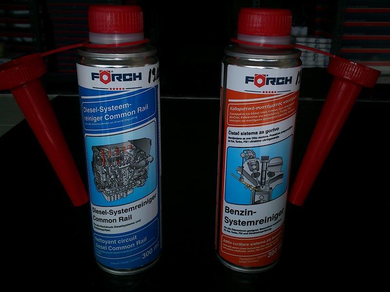 Βελτιωτικό καθαριστικό καυσίμου FORCH για βενζινη η πετρελαιο