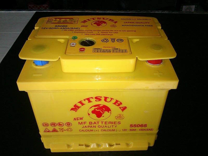 ΜΠΑΤΑΡΙΑ 60 αμπερ MITSUBA JAPAN ΔΙΑΣΤΑΣΕΙΣ:175 Χ190 Χ244 ΘΕΤΙΚΟΣ ΔΕΞΙΑ