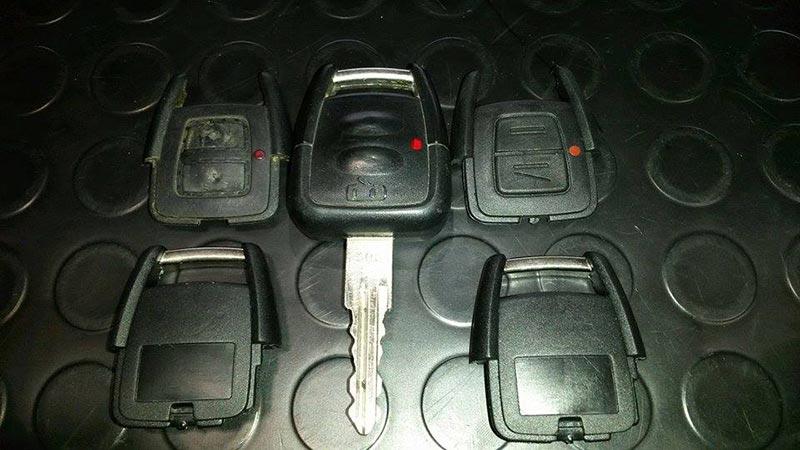 Καπάκια κλειδιού Opel ASTRA G – VECTRA B – ZAFIRA A για το κοντρολάκι